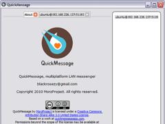 Quick Message 1.0 Screenshot