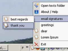 Quick Texts 1.1 Screenshot