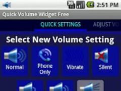 Quick Volume Widget Free 2.2.1 Screenshot