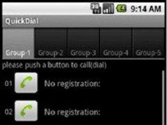 QuickDial 2.3.7 Screenshot