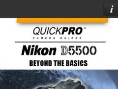 QuickPro Control + Train for Nikon D5500 Beyond the Basics HD 2.5.0 Screenshot
