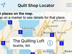 Quilt Shop Locator 3.1 Screenshot