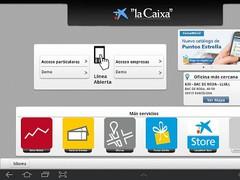 """""""la Caixa"""" Tablet 2.0.1 Screenshot"""