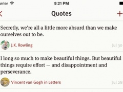 Quotebook — Notebook for Quotes 3.0.5 Screenshot