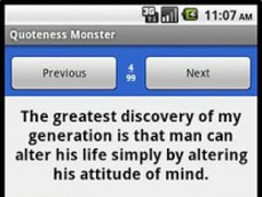Quoteness Monster 1.0 Screenshot
