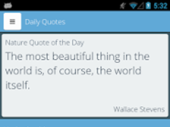 Quotery - Quotes & Sayings App 1.3 Screenshot