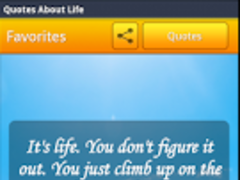 Quotes About Life 1.0 Screenshot