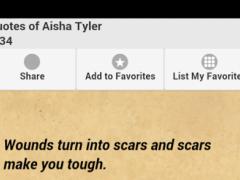 Quotes of Aisha Tyler 0.0.1 Screenshot
