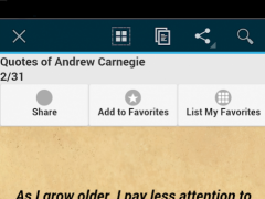 Quotes of Andrew Carnegie 0.0.1 Screenshot