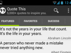QuoteThis: Quotes & Sayings 1.0 Screenshot