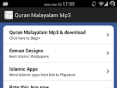 Quran Malayalam Audio 40 Free Download