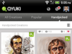 Qyuki - Creative and Social 1.1.7 Screenshot