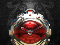 R Storm Analog Clock Widget 2.51 Screenshot