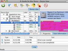 R-Studio for Mac Data Recovery 3.0 Screenshot