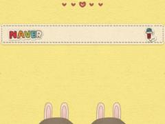 Rabbit dodol launcher theme 1.1 Screenshot