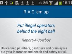 RAC (Report A Cowboy) 1.1 Screenshot