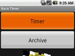 RaceTimer Pro Stopwatch 2.1.2 Screenshot