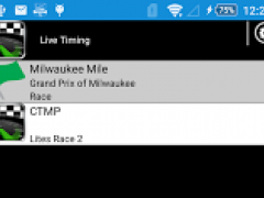 RaceTools Mobile Live Timing 1.2 Screenshot