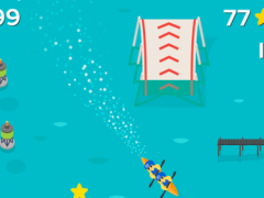 Racing Crazy Banana Boats 1.0 Screenshot