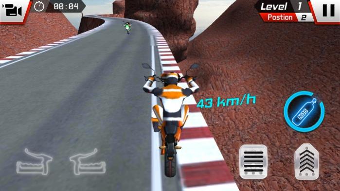 Racing on Bike Free