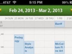 RadiCal - The Weekly Calendar 1.4 Screenshot