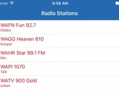 Radio Alabama FM Pro - Streaming and listen to live online music, news show and American charts from the USA 1.1.7 Screenshot