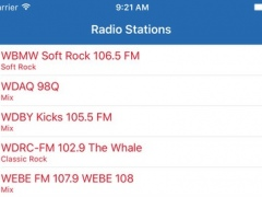 Radio Connecticut FM - Streaming and listen to live online music, news show and American charts from the USA 1.3.2 Screenshot