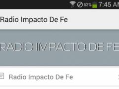 Radio Impacto DE FE 1.1 Screenshot