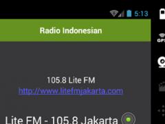 Radio Indonesian 1.0 Screenshot