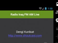 Radio Iraq FM AM Live 1.0 Screenshot