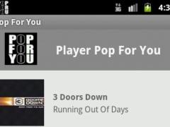RADIO POP FOR YOU 1.3 Screenshot