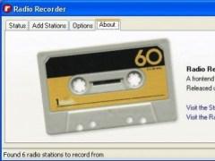 Radio Recorder GUI 1.0.12 Screenshot