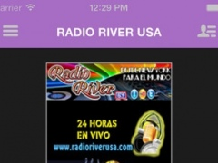RADIO RIVER USA 3.7.5 Screenshot