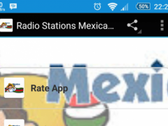 Radio Stations Mexican Free 1.0 Screenshot