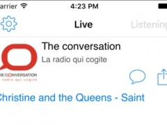 Radio The Conversation 1.0 Screenshot
