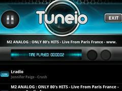 Radio - Tuneio - Free 1.2 Screenshot