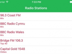 Radio Wales FM - Streaming and listen to live Welsh online music, news show from your station and channel of the United Kingdom 1.2.2 Screenshot