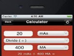 Radiographic Calculator 1.4 Screenshot