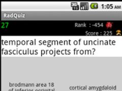 Radiology Quiz 1.1 Screenshot