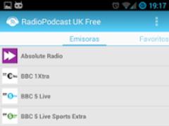 RadioPodcast UK 2 3.0.6 Screenshot