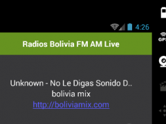 Radios Bolivia FM AM Live 1.0 Screenshot