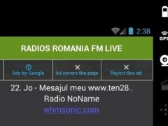 RADIOS ROMANIA FM LIVE 1.0 Screenshot