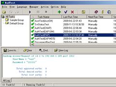 Radius Test 2.6 Screenshot