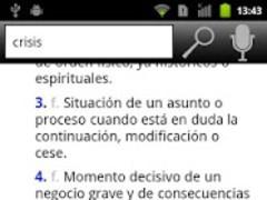 RAE Spanish Dictionary 1.1.7 Screenshot