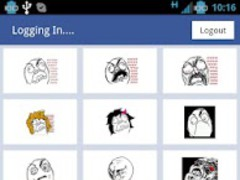 Rage Facebook Status Updater 0.1.1 Screenshot