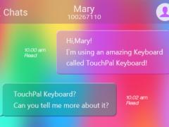 Rainbow Love Keyboard Theme 6.20160728133349 Screenshot