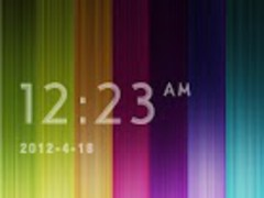 RainbowBar GO Locker Theme 1.00 Screenshot