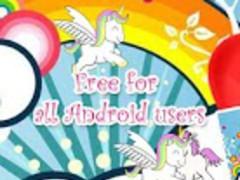 Rainbows and Unicorns HD LWP 1.0 Screenshot