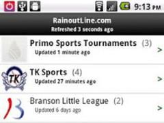 RainoutLine.com 3.0 Screenshot