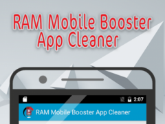 RAM Mobile Booster App Cleaner 1.3.0 Screenshot